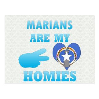 Marians es mi Homies Tarjetas Postales