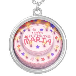 Maria's Birthday Cake Necklaces