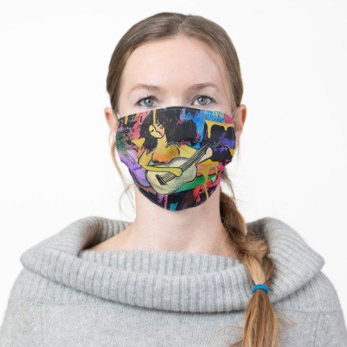 Marias Music Cloth Face Mask
