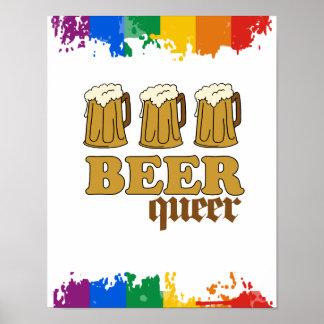 Maricón de tres cervezas posters