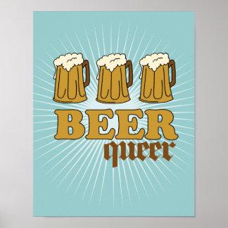 Maricón de tres cervezas impresiones