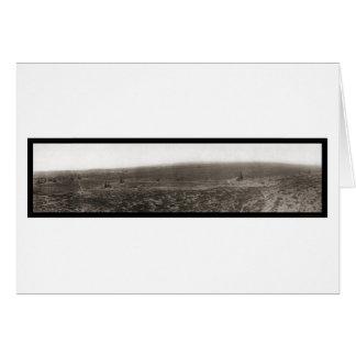 Maricopa, California Oil Fields Photo 1910 Card