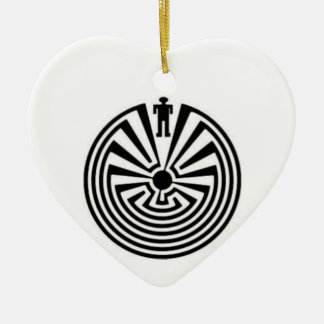 MARICOPA Hopi  Man in the Maze Collector ORNAMENT