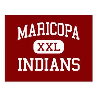 Maricopa - Indians - High - Maricopa California Postcard