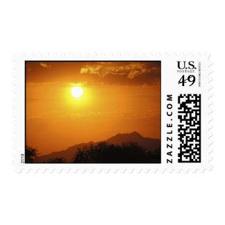 Maricopa Sunset Postage Stamp