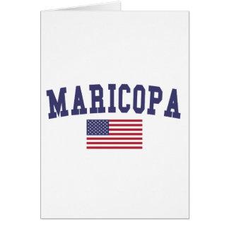 Maricopa US Flag Card