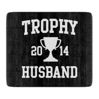Marido 2014 del trofeo tabla de cortar