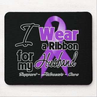 Marido - cinta del cáncer pancreático mousepads