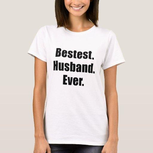 Marido de Bestest nunca Playera