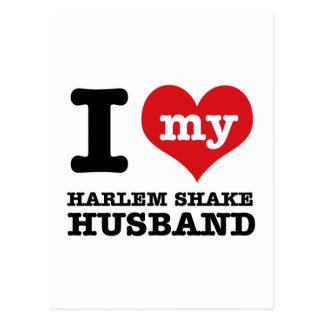 Marido de la danza de la sacudida de Harlem Postal