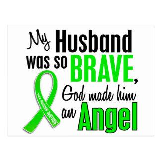 Marido de la distrofia muscular del ángel 1 postales