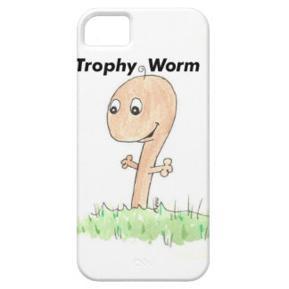 Marido de la esposa del gusano del trofeo iPhone 5 funda