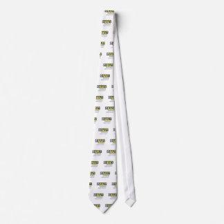 Marido de la marina de guerra corbata personalizada
