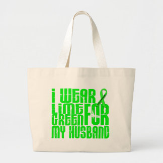 Marido de la VERDE LIMA 16 del DESGASTE del Bolsa Tela Grande