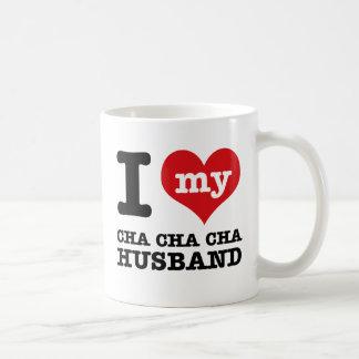 marido del cha del cha del cha tazas