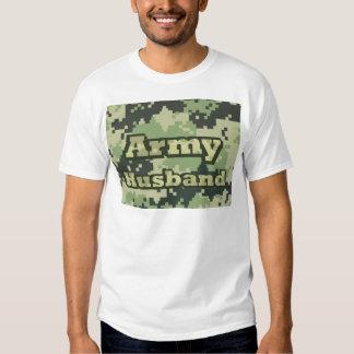 Marido del ejército playeras