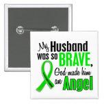 Marido del linfoma Non-Hodgkin del ángel 1 Pin