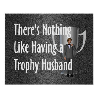 Marido del trofeo de la CAMISETA Impresiones