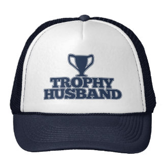 Marido del trofeo gorros