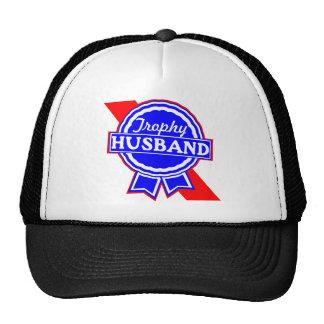 Marido del trofeo gorras de camionero