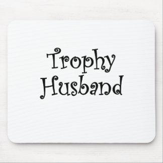 Marido del trofeo mouse pads