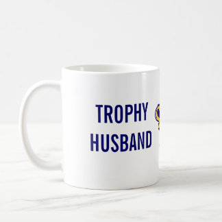 Marido del trofeo taza básica blanca
