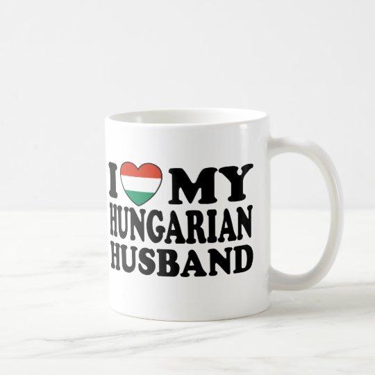 Marido húngaro taza de café