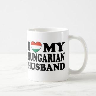 Marido húngaro tazas de café