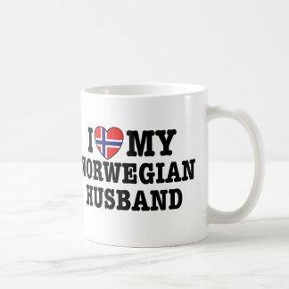 Marido noruego tazas de café