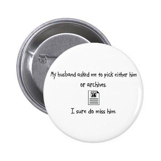 Marido o archivos de la selección pins