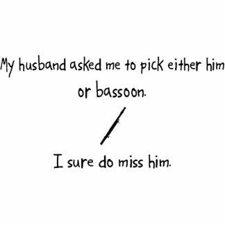 Marido o Bassoon de la selección Adorno Fotoescultura