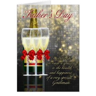 Marido - tarjeta del día de padre - tostada de Cha