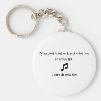 Marido u orquesta de la selección llavero