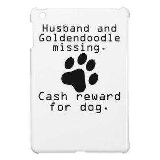 Marido y desaparecidos de Goldendoodle