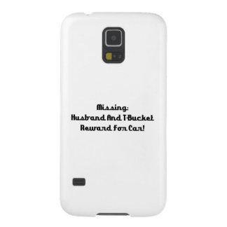 Marido y recompensa que falta de Tbucket por coche Fundas Para Galaxy S5