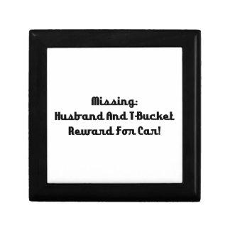 Marido y recompensa que falta de Tbucket por coche Joyero Cuadrado Pequeño