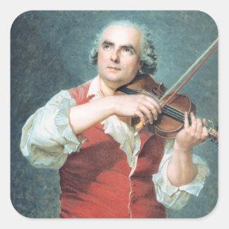 Marie Alexandre Guenin  1791 Square Sticker