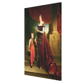 Marie Amelie de Bourbon Canvas Print