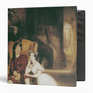 Marie and Paul Taglioni the ballet 'La Sylphide' Binder