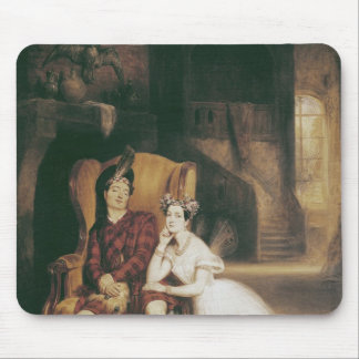 Marie and Paul Taglioni the ballet 'La Sylphide' Mouse Pad