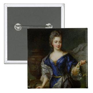 Marie-Anne de Borbón Princesa de Conti Pin Cuadrado