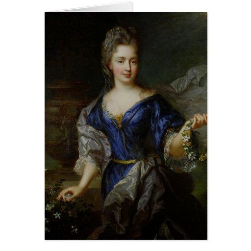 Marie-Anne de Borbón Princesa de Conti Tarjeta De Felicitación