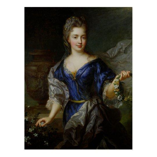 Marie-Anne de Borbón Princesa de Conti Tarjeta Postal