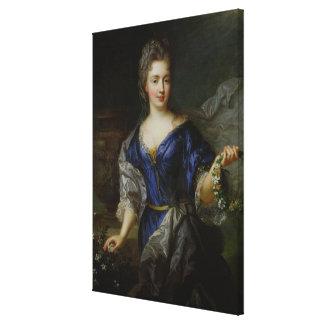 Marie-Anne de Bourbon  Princess of Conti Canvas Print