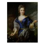 Marie-Anne de Bourbon  Princess of Conti Postcard