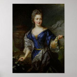 Marie-Anne de Bourbon  Princess of Conti Poster