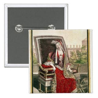 Marie-Anne Mancini  Duchess of Bouillon Pinback Button