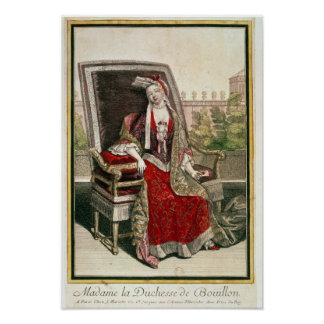 Marie-Anne Mancini  Duchess of Bouillon Poster