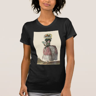 Marie Antionette Black Poodle 18th Century Costume Shirt