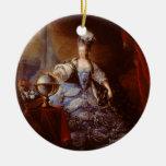 Marie Antoinett de Austria de Jean Baptiste Dagoty Adorno Redondo De Cerámica